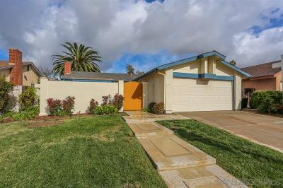 San Diego Single Family Home For Sale: 7886 Flanders
