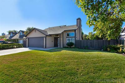 Vista Single Family Home For Sale: 1022 El Vallecito