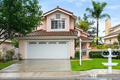 Vista Single Family Home For Sale: 1291 Cassio Ct