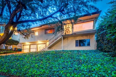 La Jolla Single Family Home For Sale: 5935 Folsom Drive