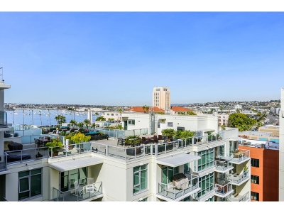 San Diego Attached For Sale: 1431 Pacific Hwy #902