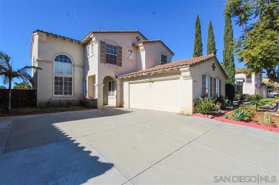 Chula Vista Single Family Home For Sale: 1203 Via Escalante