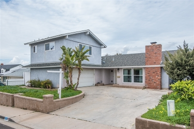 Chula Vista Single Family Home For Sale: 525 Azalea