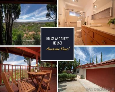 Valley Center Single Family Home For Sale: 14280 Resava Ln