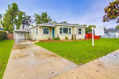 Single Family Home For Sale: 612 Elm Ave