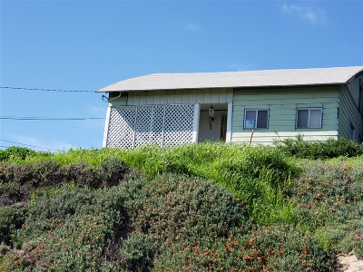 San Diego Single Family Home Contingent: 1444 Gibson