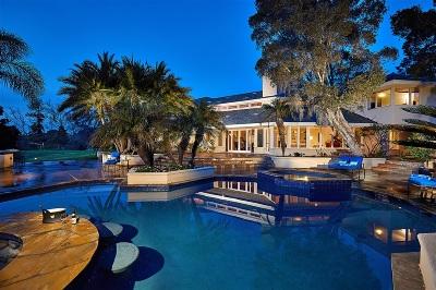 Rancho Santa Fe Single Family Home For Sale: 4760 La Noria