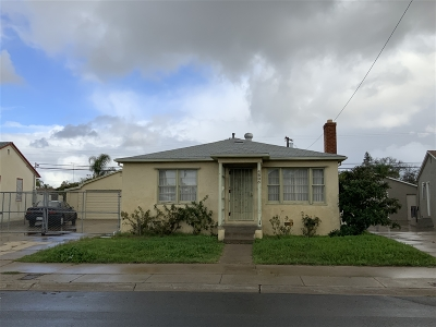 San Diego Single Family Home For Sale: 4805 Filipo St.
