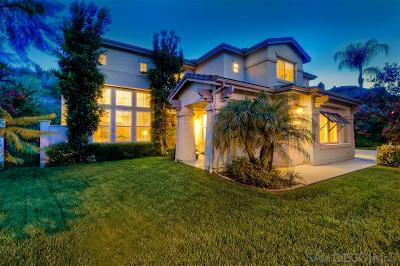 Poway Single Family Home For Sale: 12259 Stonemill Drive