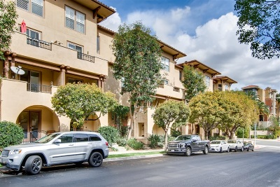 Mission Hills, Mission Hills/Hillcrest, Mission Valley Townhouse For Sale: 8300 Station Village Drive #19