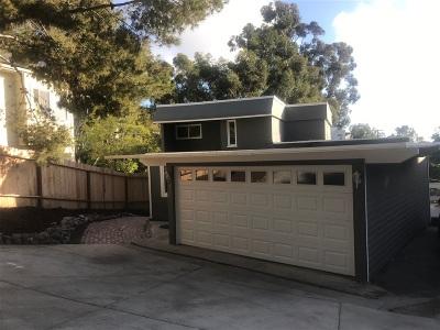 San Diego Single Family Home For Sale: 411 Sloane