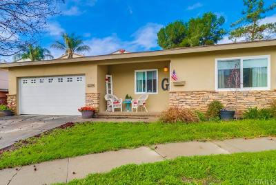 San Diego Single Family Home For Sale: 1274 Koe St.