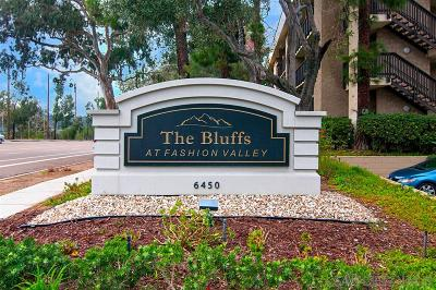 San Diego Attached For Sale: 6406 Friars Rd #226