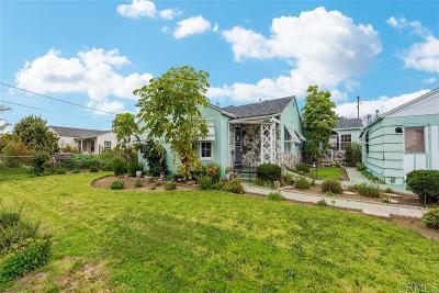 Chula Vista Single Family Home For Sale: 361 Fifth Avenue