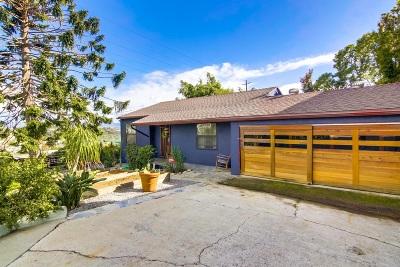 San Diego Single Family Home For Sale: 3193 B Street