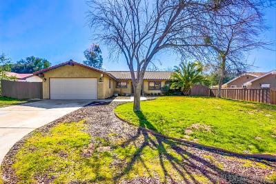 Ramona CA Single Family Home For Sale: $469,999