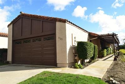 Escondido CA Attached For Sale: $495,000