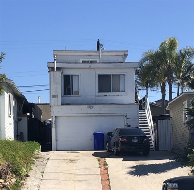 San Diego Multi Family 2-4 For Sale: 3807 Swift