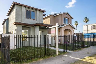 San Diego Single Family Home For Sale: 224 Ada St
