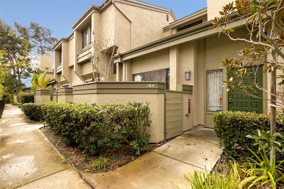 La Jolla Townhouse For Sale: 3333 Caminito Eastbluff #164