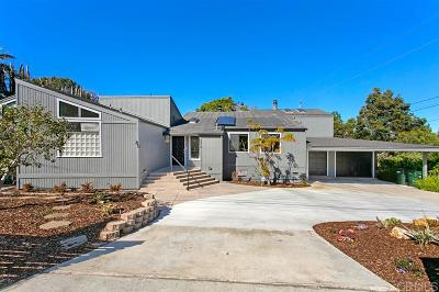 Encinitas Single Family Home For Sale: 272 Requeza St