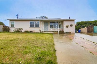 Chula Vista Single Family Home For Sale: 631 Belinda Way