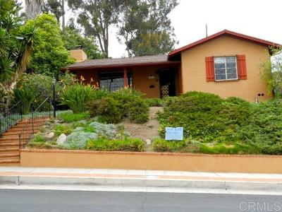 La Mesa Single Family Home For Sale: 8038 Culowee St