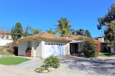 San Diego Single Family Home For Sale: 10460 La Vita Ct