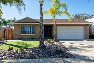 Santee Single Family Home For Sale: 10322 Woodpark Dr