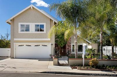 San Diego Single Family Home For Sale: 13796 Via Cima Bella