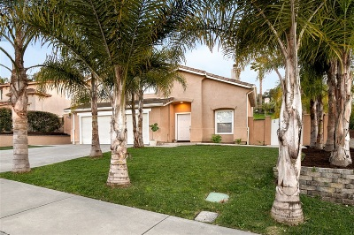 Oceanside Single Family Home For Sale: 1279 Cottonwood Dr