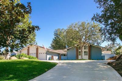 Single Family Home For Sale: 16515 Corte Paulina
