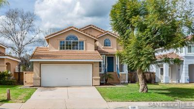 Santee Single Family Home For Sale: 338 River Trail Pl