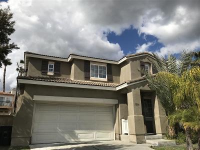 Chula Vista Single Family Home For Sale: 1206 Paradise Trail Road