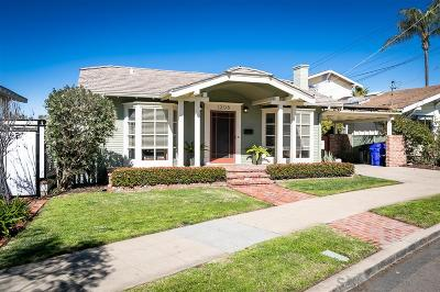 Mission Hills Single Family Home For Sale: 1306 Bush Street