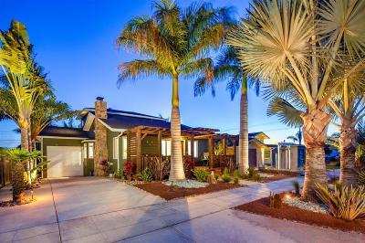 Single Family Home For Sale: 4354 Santa Monica Ave