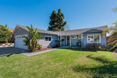 San Diego Single Family Home For Sale: 6315 Balsam Lake Ave