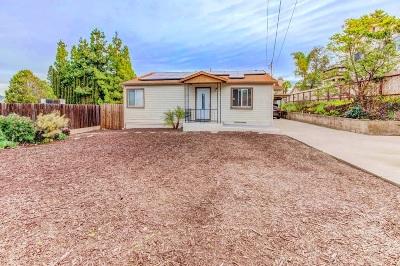 San Diego County Single Family Home For Sale: 8601 Ellsworth Ln