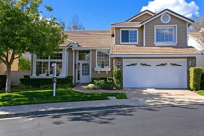 San Diego Single Family Home For Sale: 12254 Middlebrook Sq.