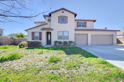 Riverside County Single Family Home For Sale: 28845 Lexington Way