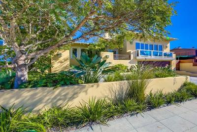La Jolla Single Family Home For Sale: 8375 Paseo Del Ocaso