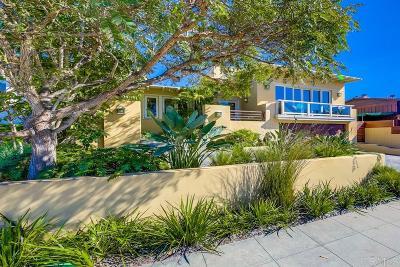 La Jolla CA Single Family Home For Sale: $3,295,000