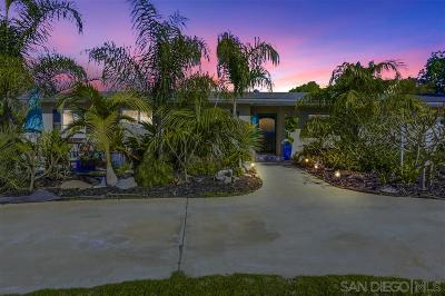 Vista Single Family Home For Sale: 1546 Monte Mar Road