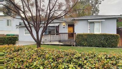 San Diego County Single Family Home For Sale: 402 N Cuyamaca St