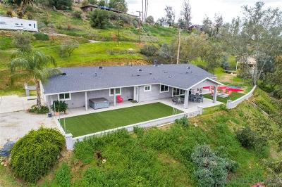 Single Family Home For Sale: 12070 Serena Rd