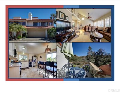 Carlsbad Townhouse For Sale: 6671 Corte Maria