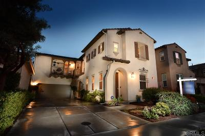 San Diego County Single Family Home For Sale: 3446 Filoli Circle
