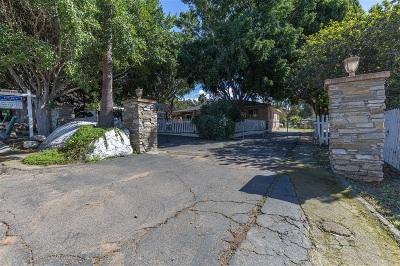 Vista Single Family Home For Sale: 656 Mar Vista D