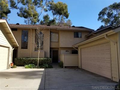 San Diego Townhouse For Sale: 10313 Ridgewater Ln