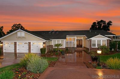 Poway Single Family Home For Sale: 16186 Country Day